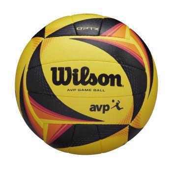 Wilson OPTX AVP OFFICIAL, odbojkarska žoga, rumena