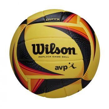 Wilson OPTX AVP REPLICA, odbojkarska žoga, rumena