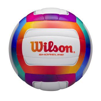 Wilson SHORELINE VB MULTI COLOR, odbojkarska žoga, bela