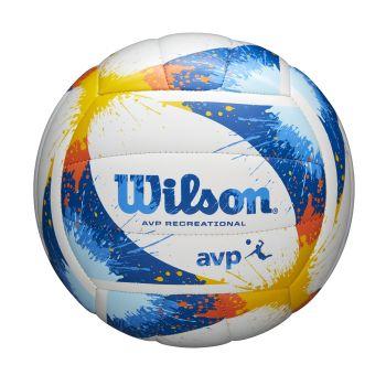 Wilson AVP SPLATTER, odbojkarska žoga, modra