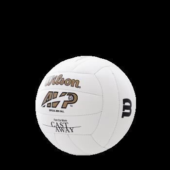 Wilson CASTAWAY MINI DEFLATED, odbojkarska žoga, bela