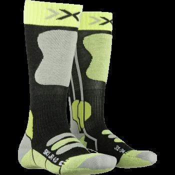 X-socks SKI JR, otroške smučarske nogavice, zelena