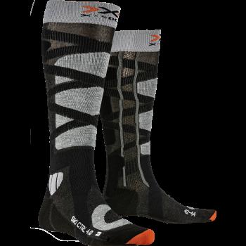 X-socks SKI CONTROL, moške smučarske nogavice, črna