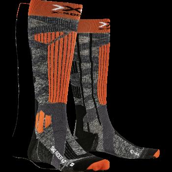 X-socks SKI RIDER, moške smučarske nogavice, oranžna