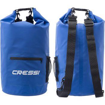 Cressi Sub DRY BAG WITH ZIP 10L, torba športna, modra