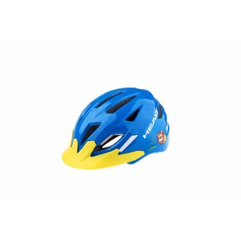 Head KID Y11A OUT-MOULD, otroška kolesarska čelada, modra