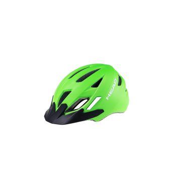 Head KID Y11A OUT-MOULD, otroška kolesarska čelada, zelena