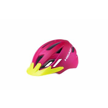 Head KID Y11A OUT-MOULD, otroška kolesarska čelada, roza