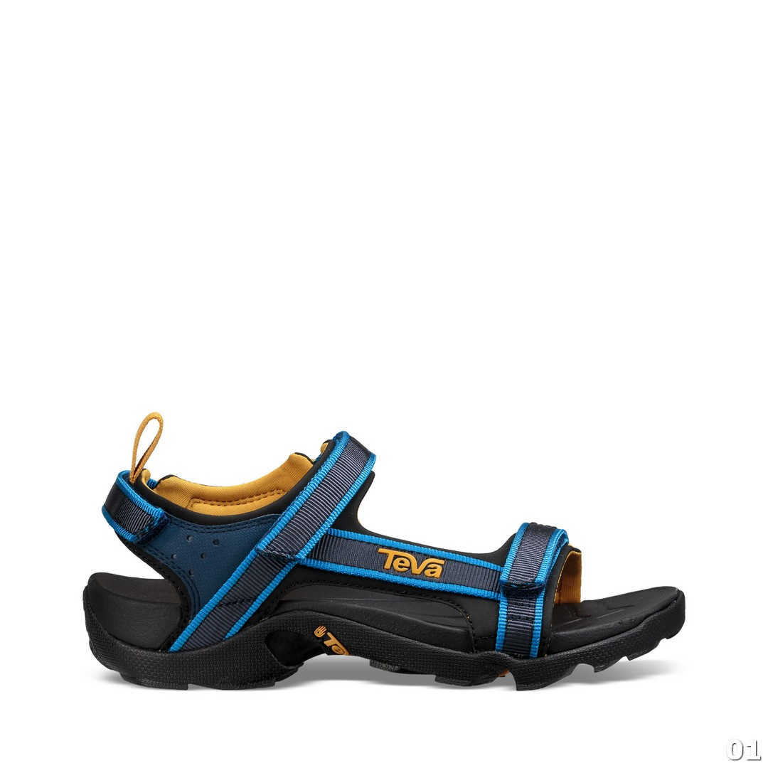 Teva Tanza, sandali  o.poh., modra