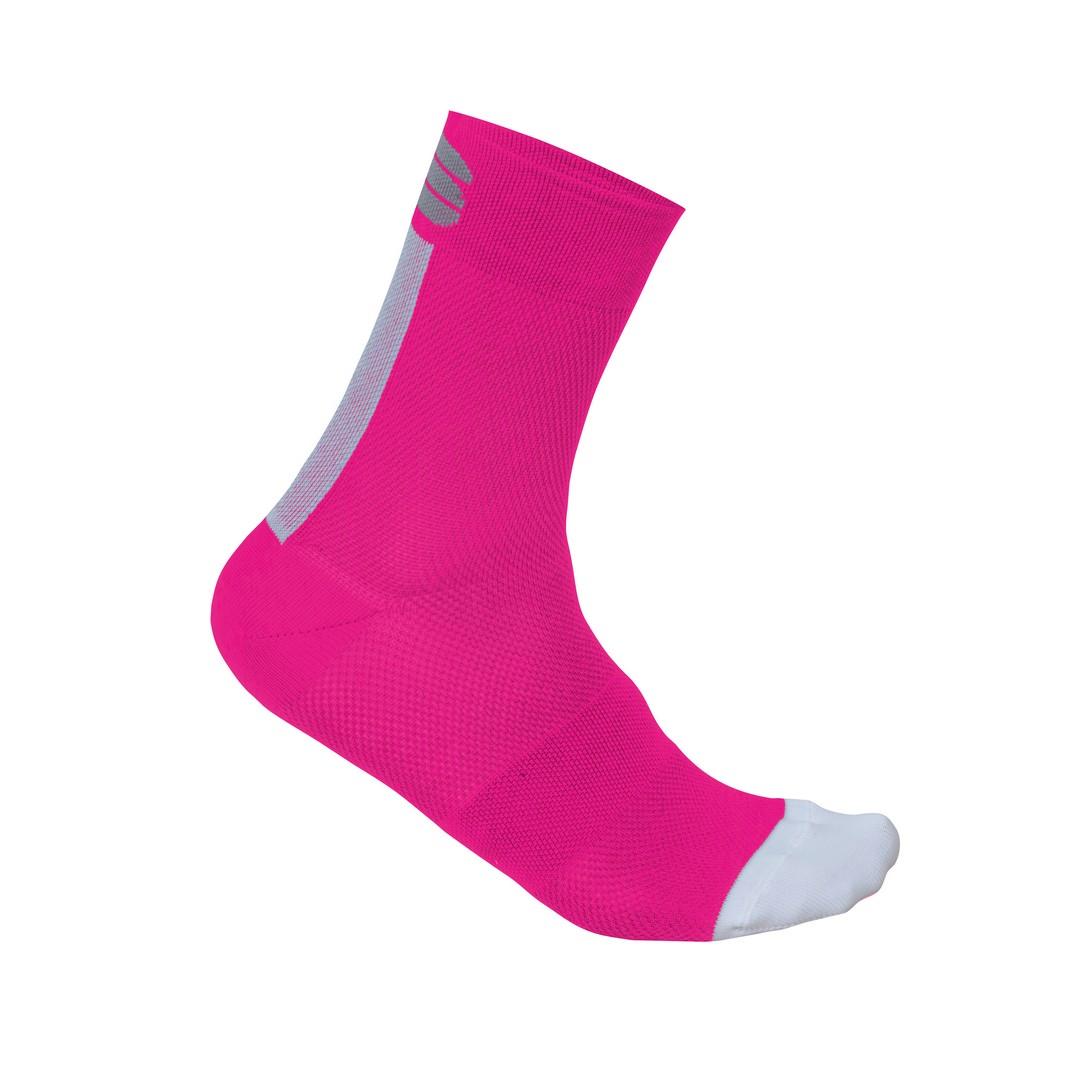 Sportful BODYFIT PRO 12 W SOCKS, nogavice ž.kr kol, roza