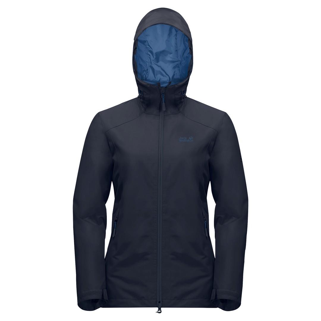 Jack Wolfskin CHILLY MORNING JKT, ženska pohodna jakna, modra