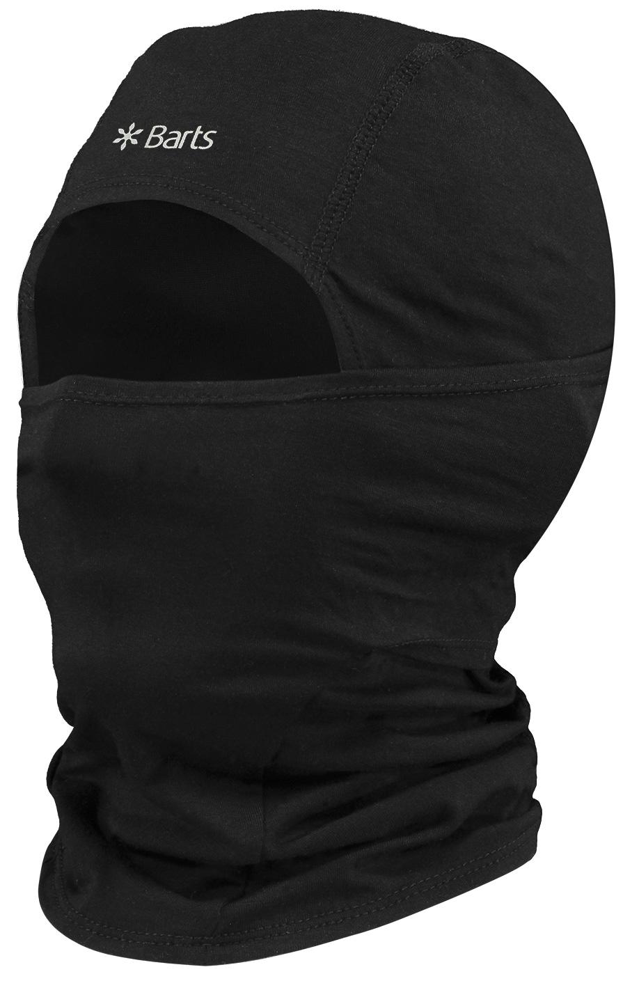 Barts THINCLAVA BLACK ONE SIZE, pokrivalo, črna