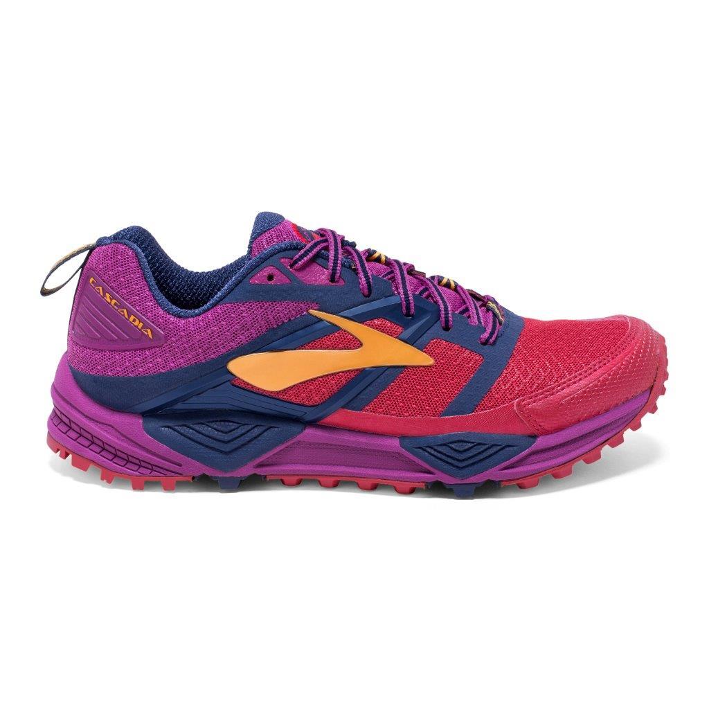 Brooks CASCADIA 12, ženski tekaški copati, roza