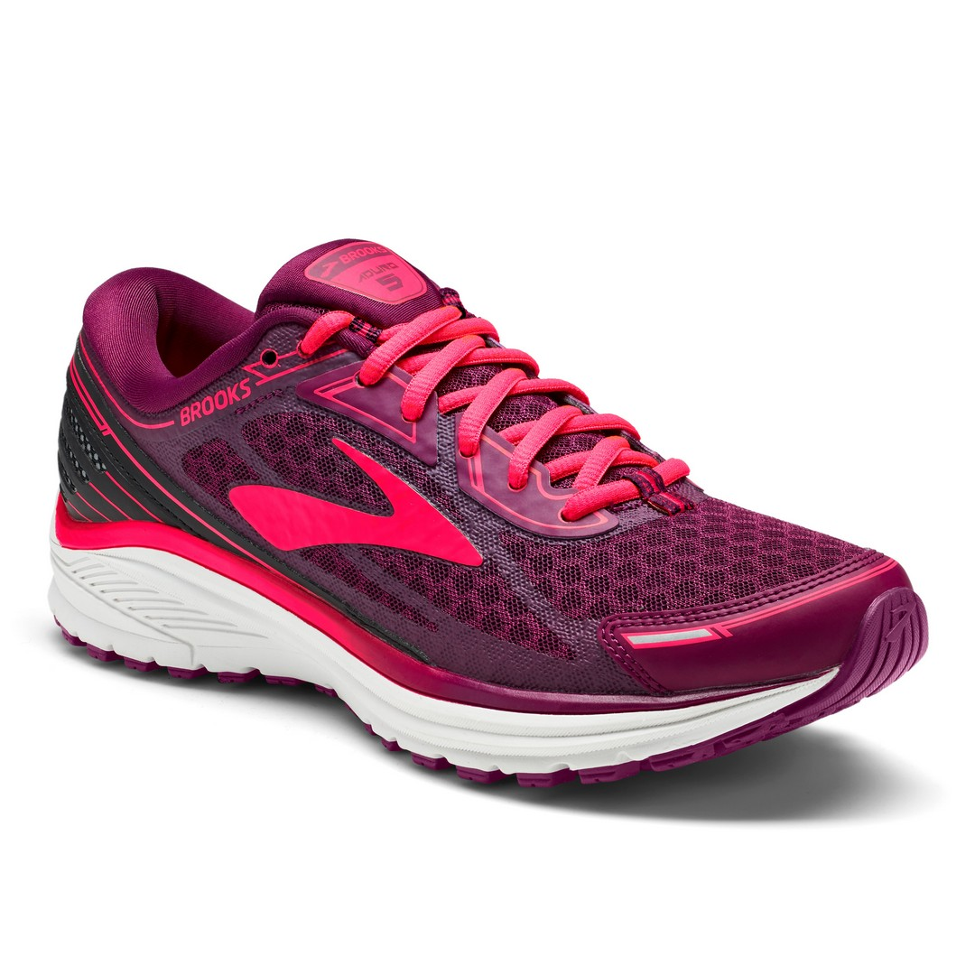 Brooks ADURO 5, ženski tekaški copati, roza