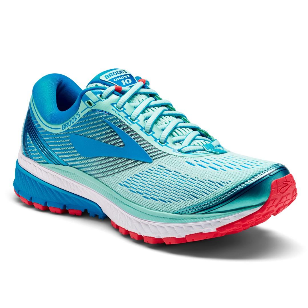 Brooks GHOST 10, ženski tekaški copati, modra