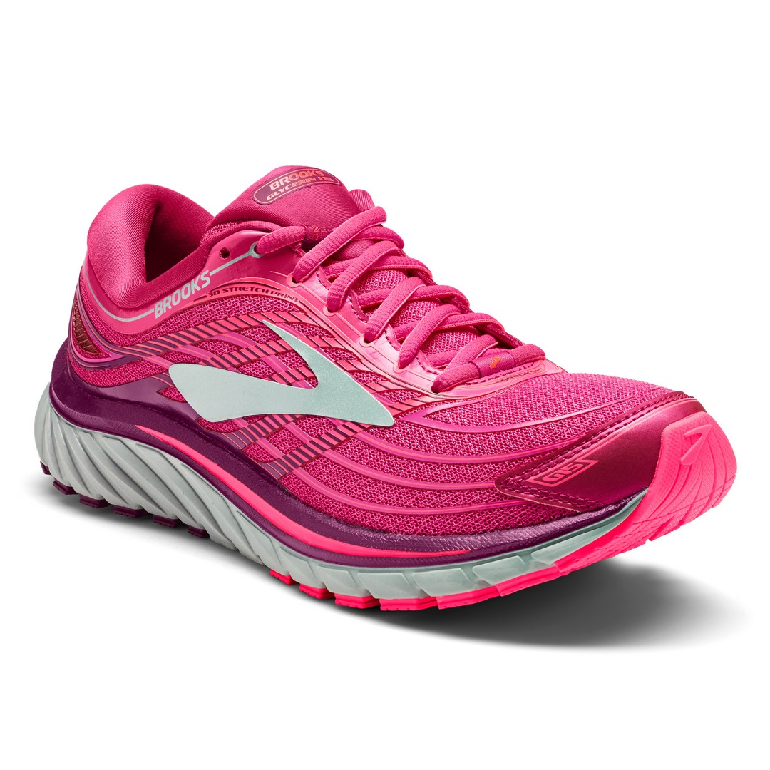 Brooks GLYCERIN 15, ženski tekaški copati, roza