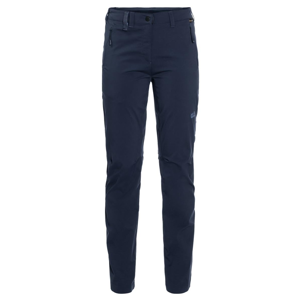 Jack Wolfskin Activate Light Pants Women, ženske pohodne hlače, modra