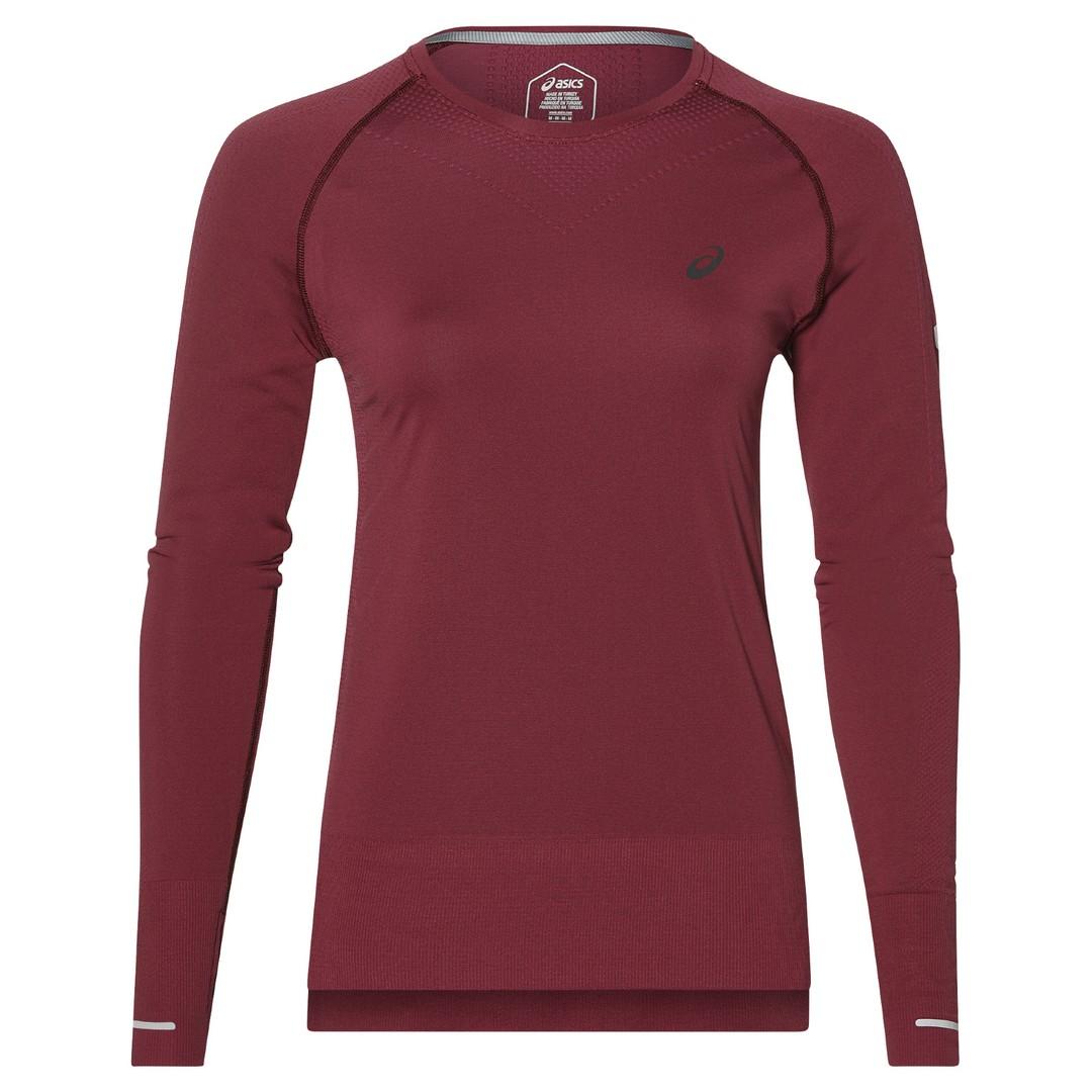 Asics SEAMLES LS, ženska tekaška majica, vijolična