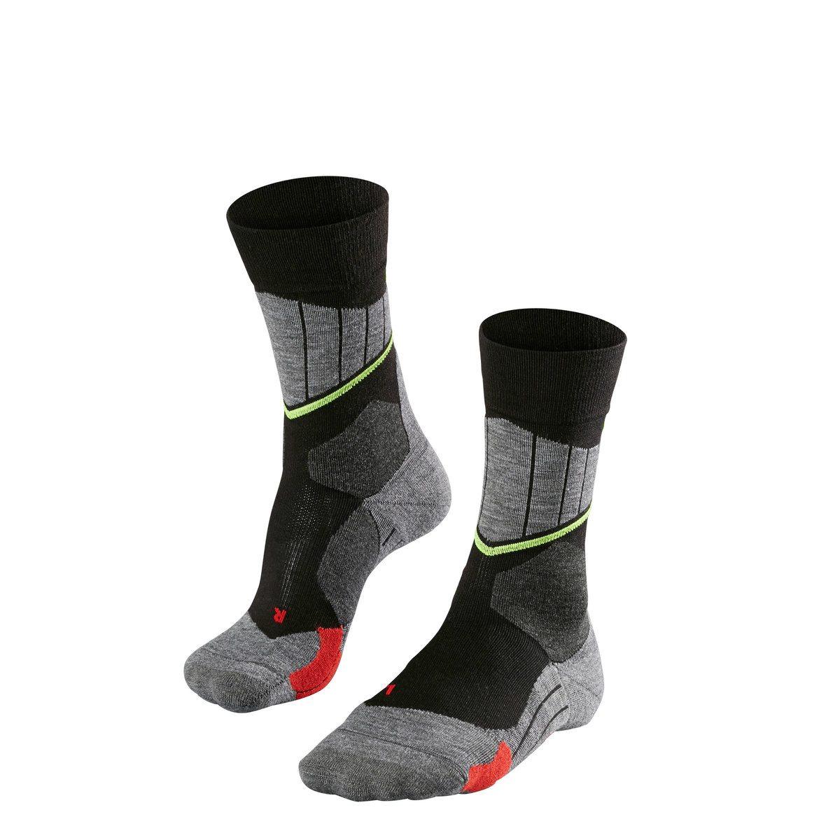 Falke FALKE SC1, moške smučarske nogavice, črna