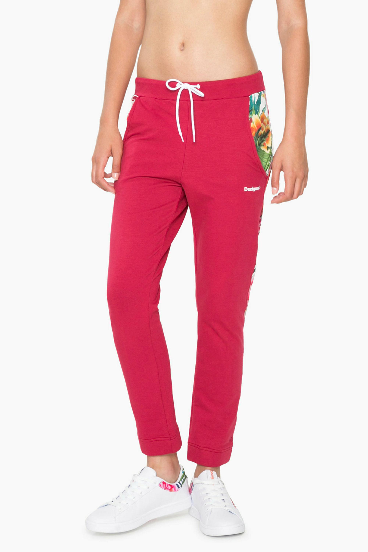 Desigual Loose Fit Pant, ženske pajke, rdeča