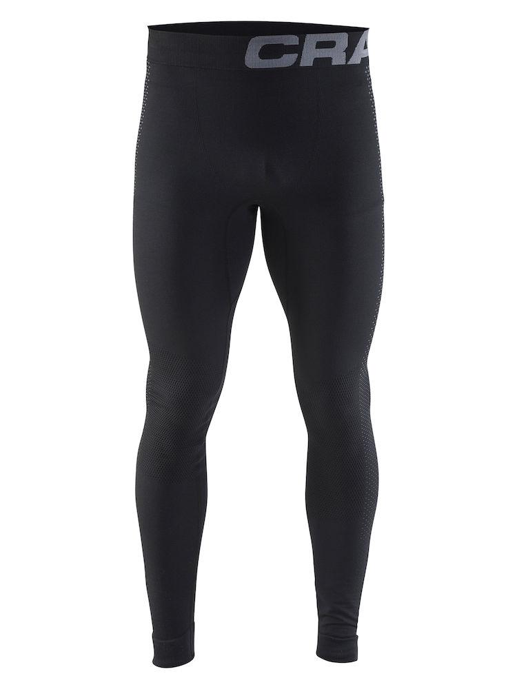 Craft WARM INTENSITY PANTS M, pajke m.fit, črna