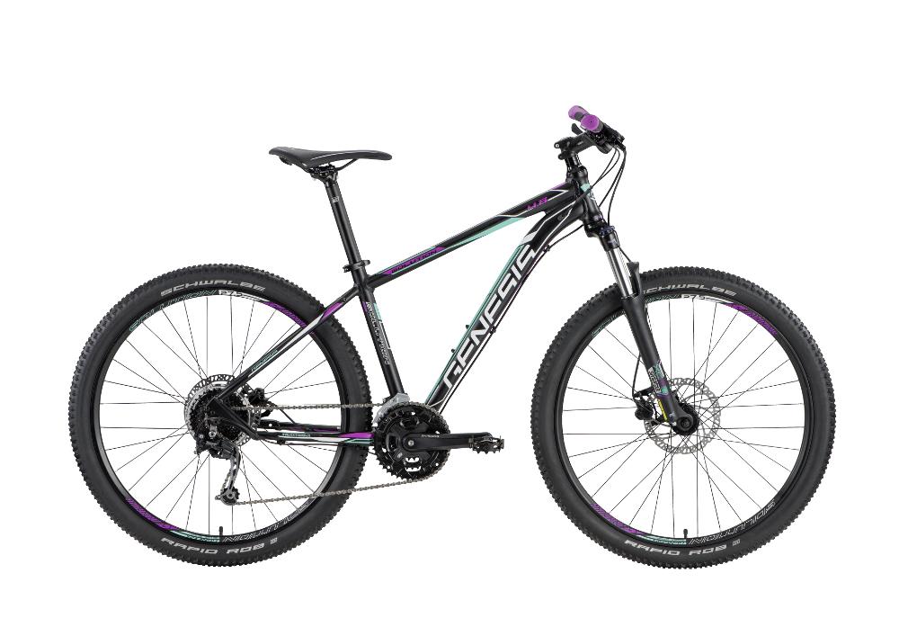 Genesis SOLUTION 4.8 W, žensko gorsko kolo, črna