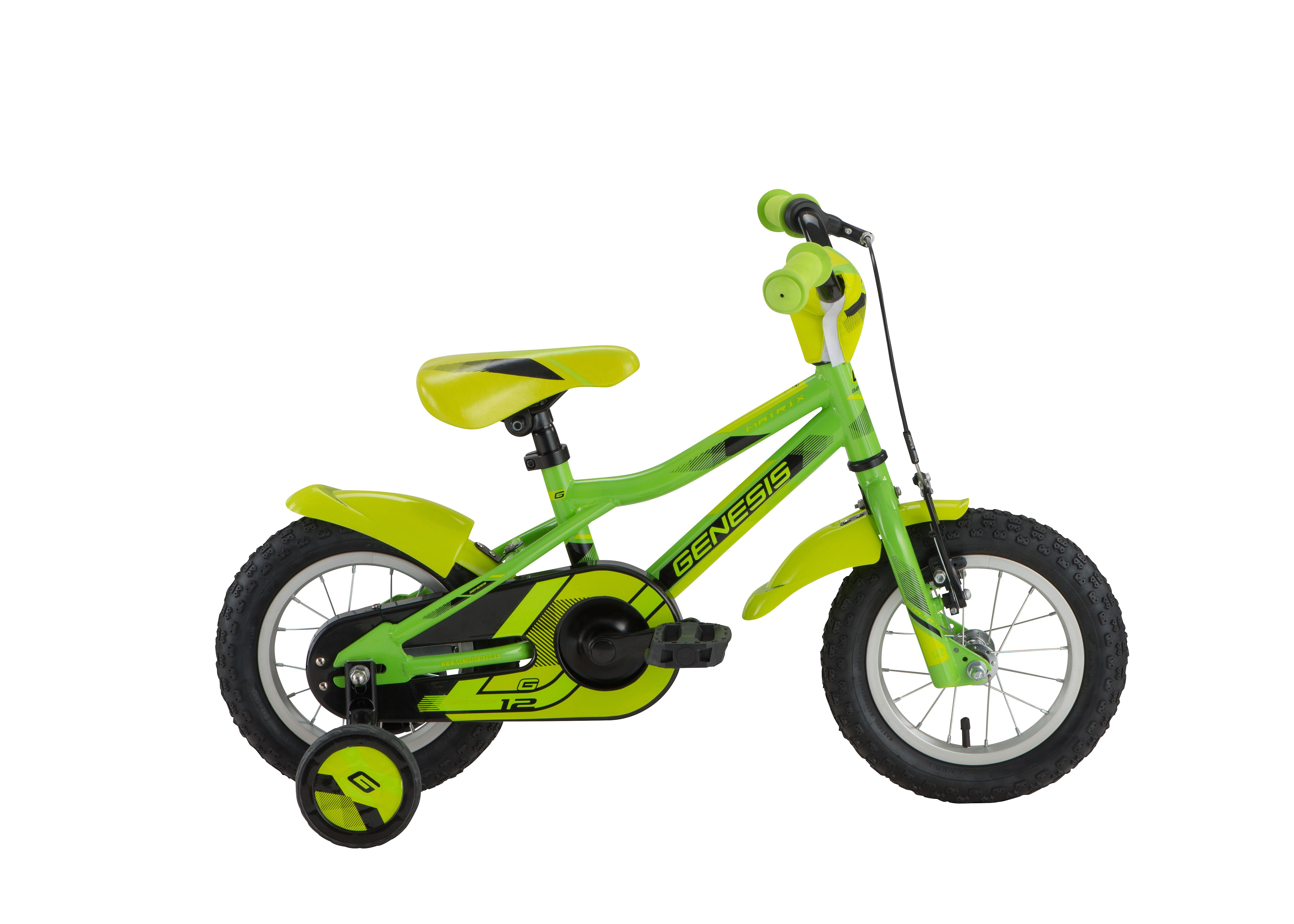 Genesis MATRIX 12, otroško kolo, zelena