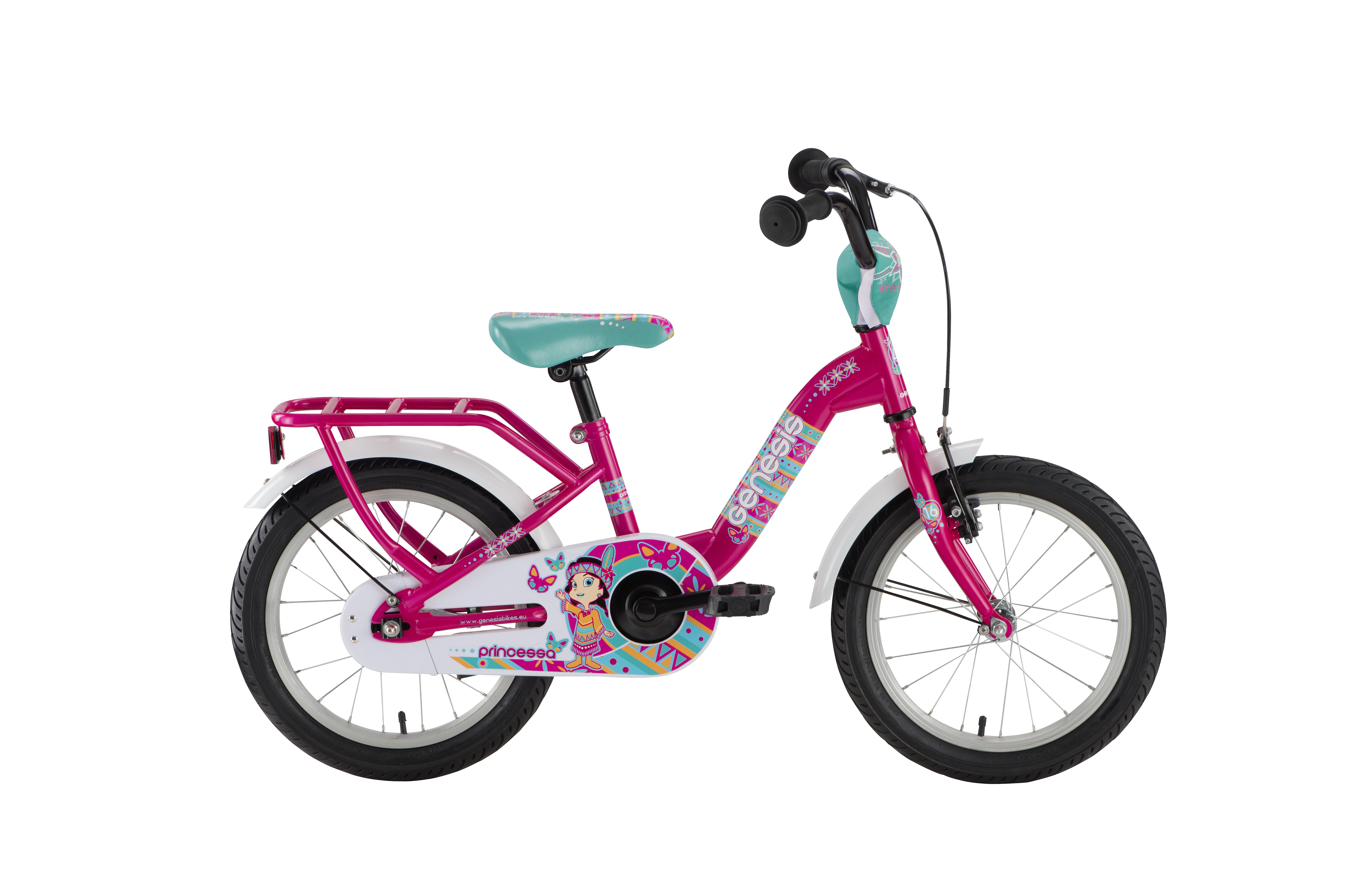 Genesis PRINCESSA 16, otroško kolo, roza