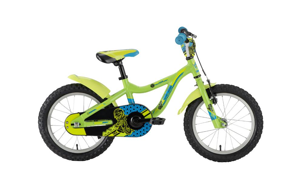 Genesis MX 16, otroško kolo, zelena