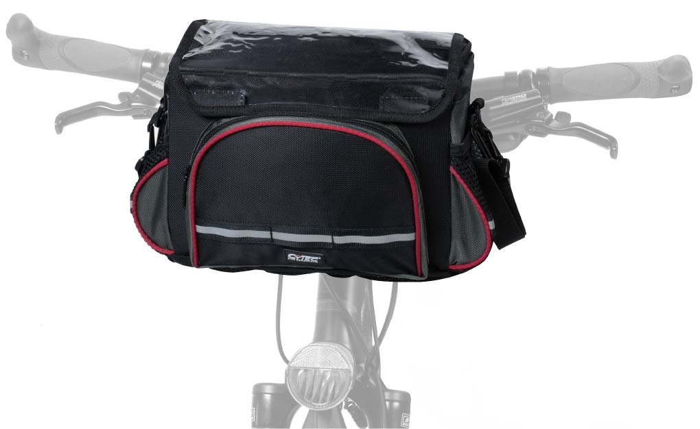 Cytec TRAVEL II HANDLEBAR, kolesarska torba, črna