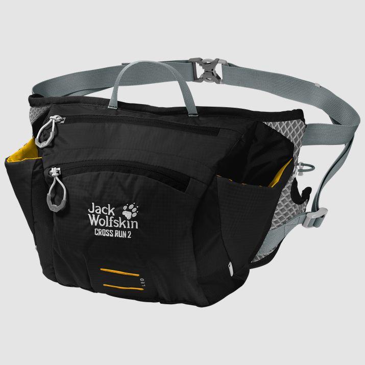 Jack Wolfskin CROSS RUN 2, torbica, črna