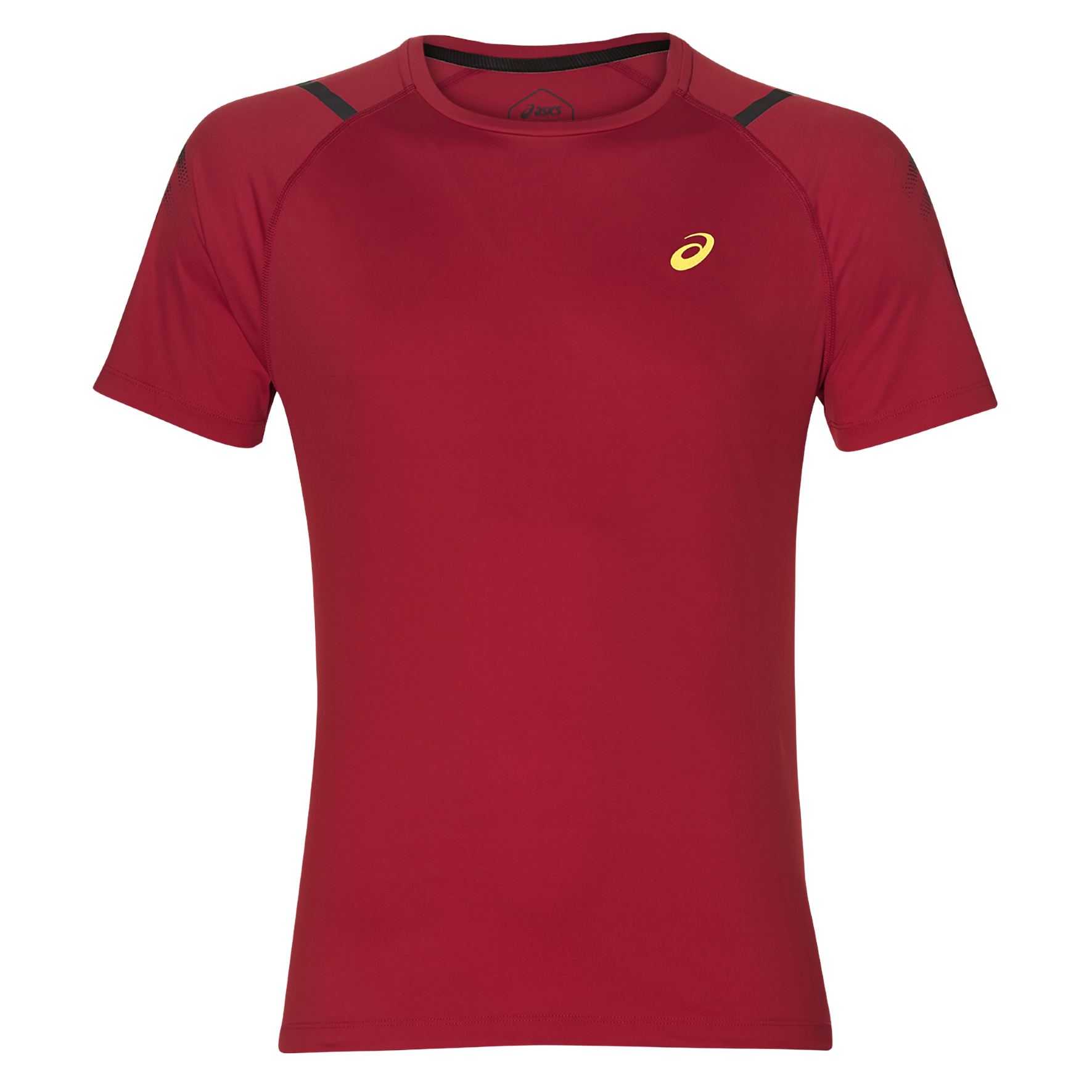 Asics 2011A259, moška tekaška majica, rdeča