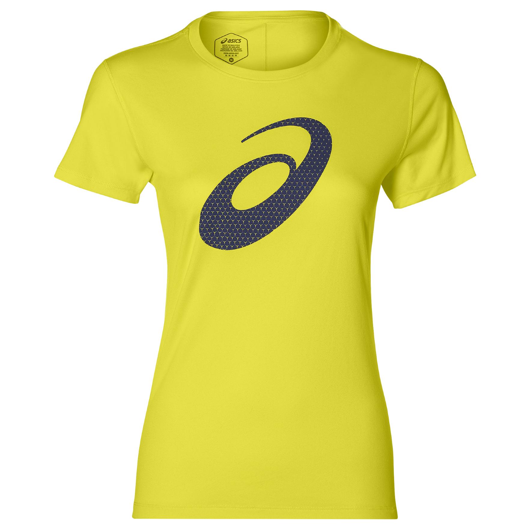 Asics 2012A271, ženska tekaška majica, rumena