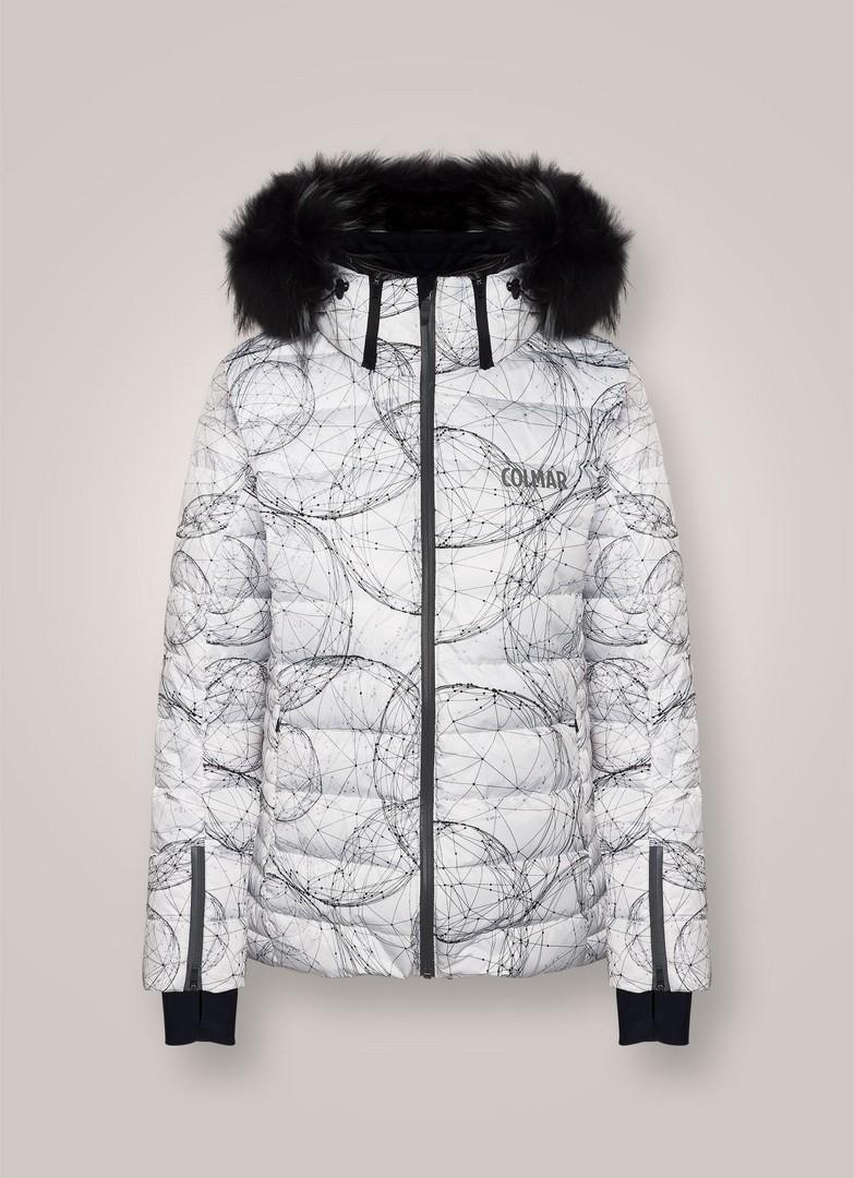 Colmar MD2835F8SW, ženska smučarska jakna, bela