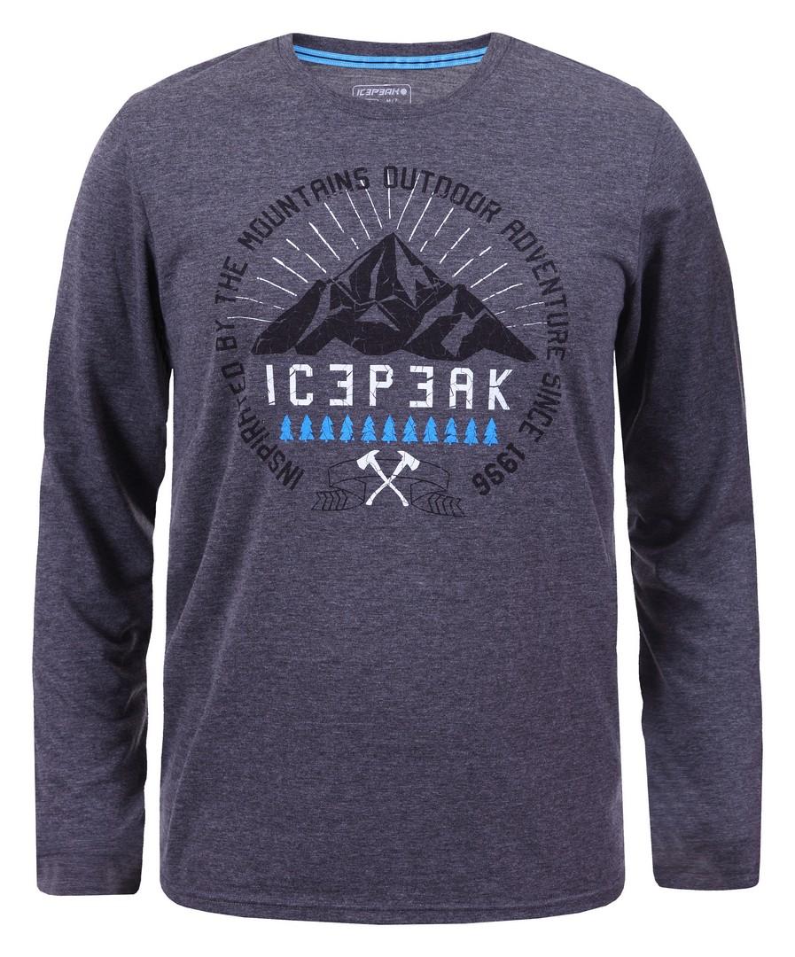 Icepeak LEIGHTON, moška pohodna majica, siva