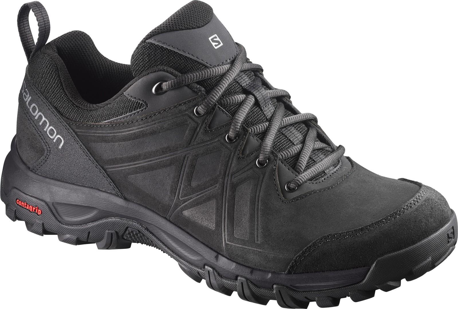 Salomon EVASION 2 LTR, pohodni čevlji, črna