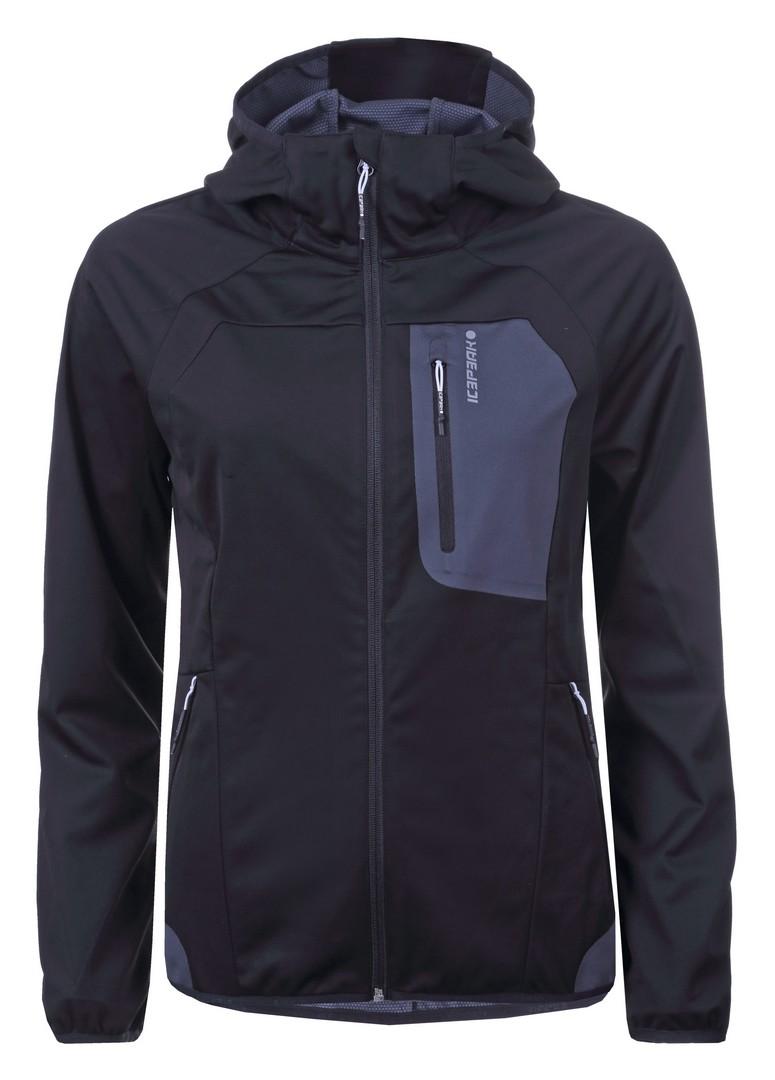 Icepeak GANESA, ženska pohodna jakna, črna