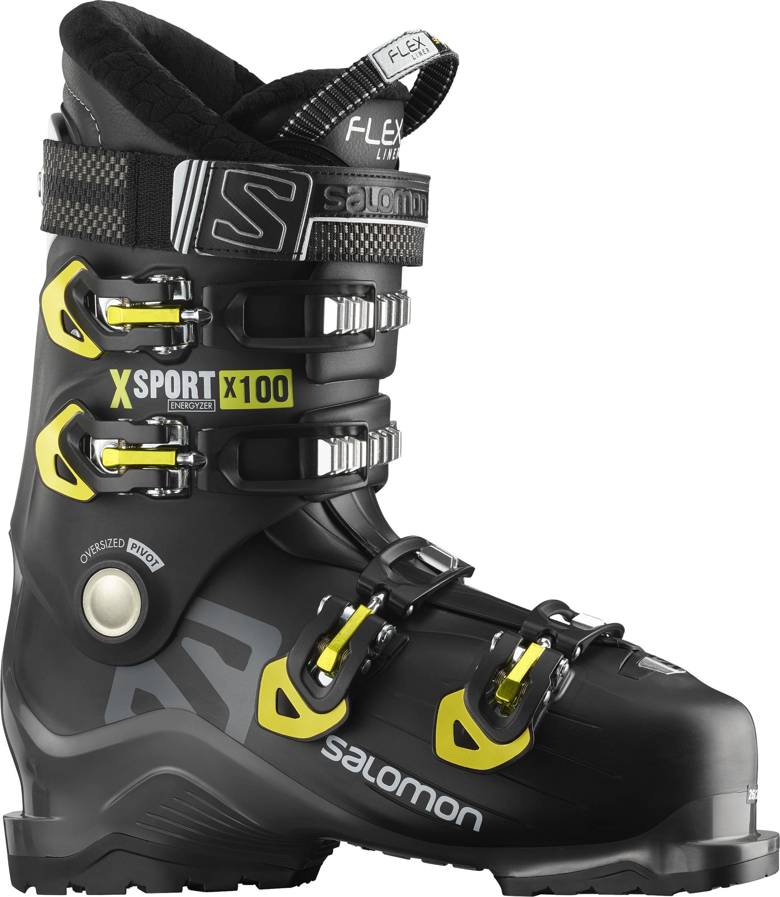 Salomon X SPORT X100, moški smučarski čevlji, črna