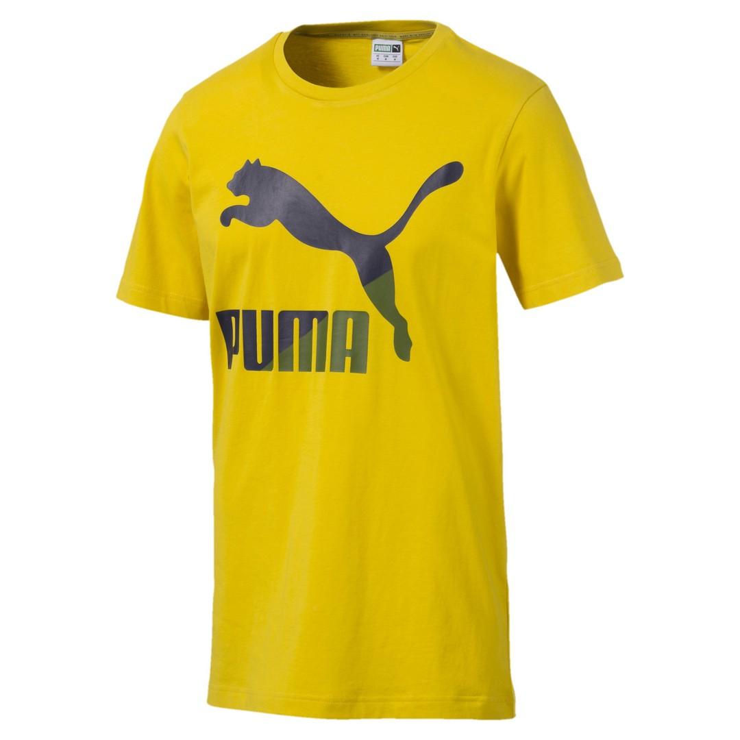 Puma CLASSICS LOGO TEE, moška majica, rumena