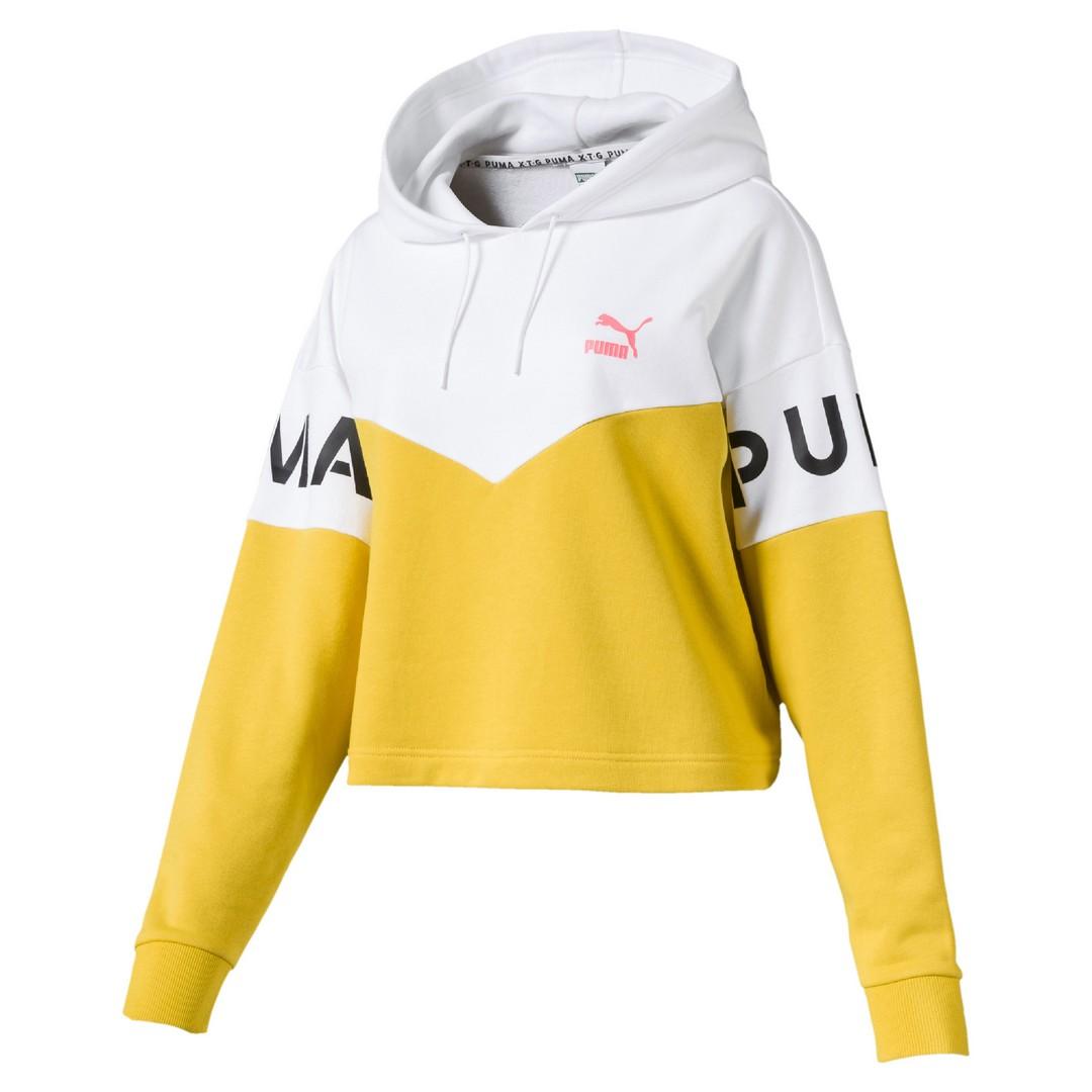 Puma XTG HOODY, ženski pulover, rumena