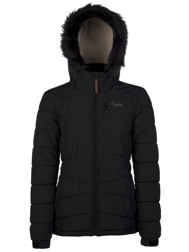 Protest VALDEZ, ženska smučarska jakna, črna