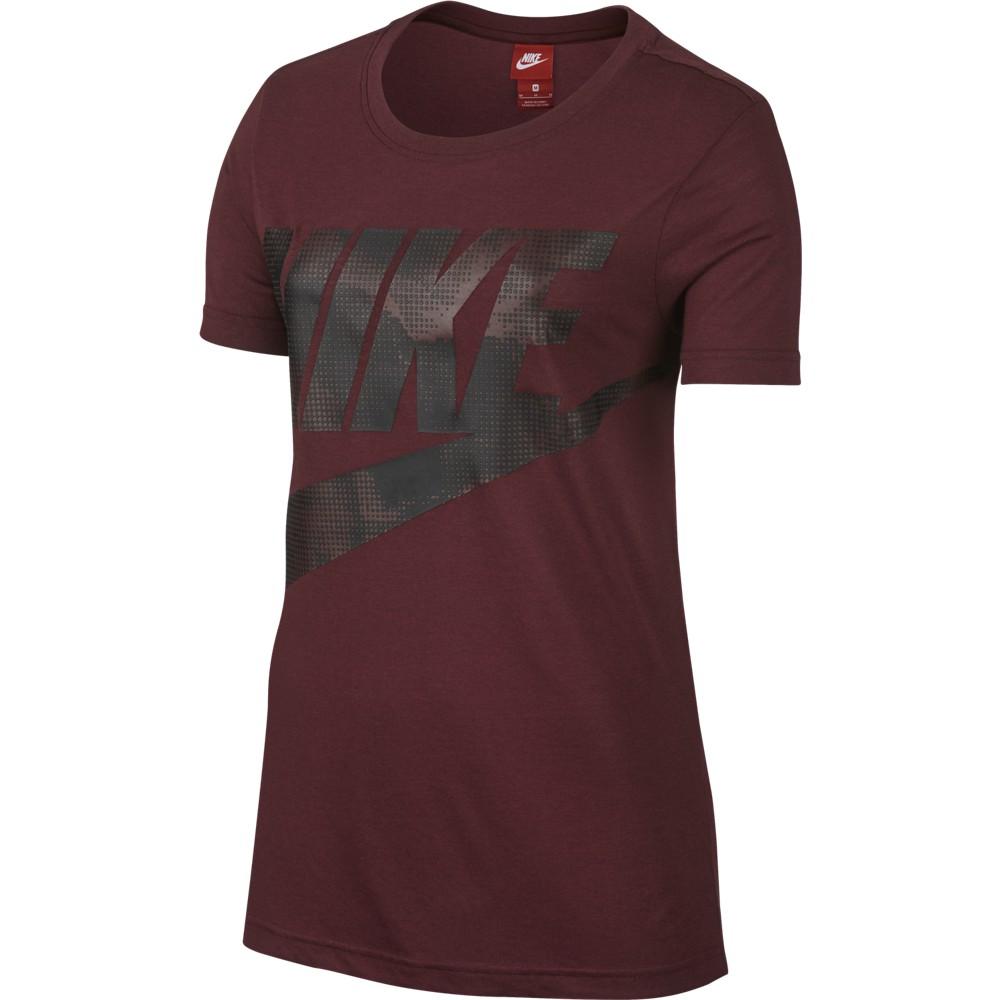 Nike W NSW TEE GLACIER, maja, rdeča