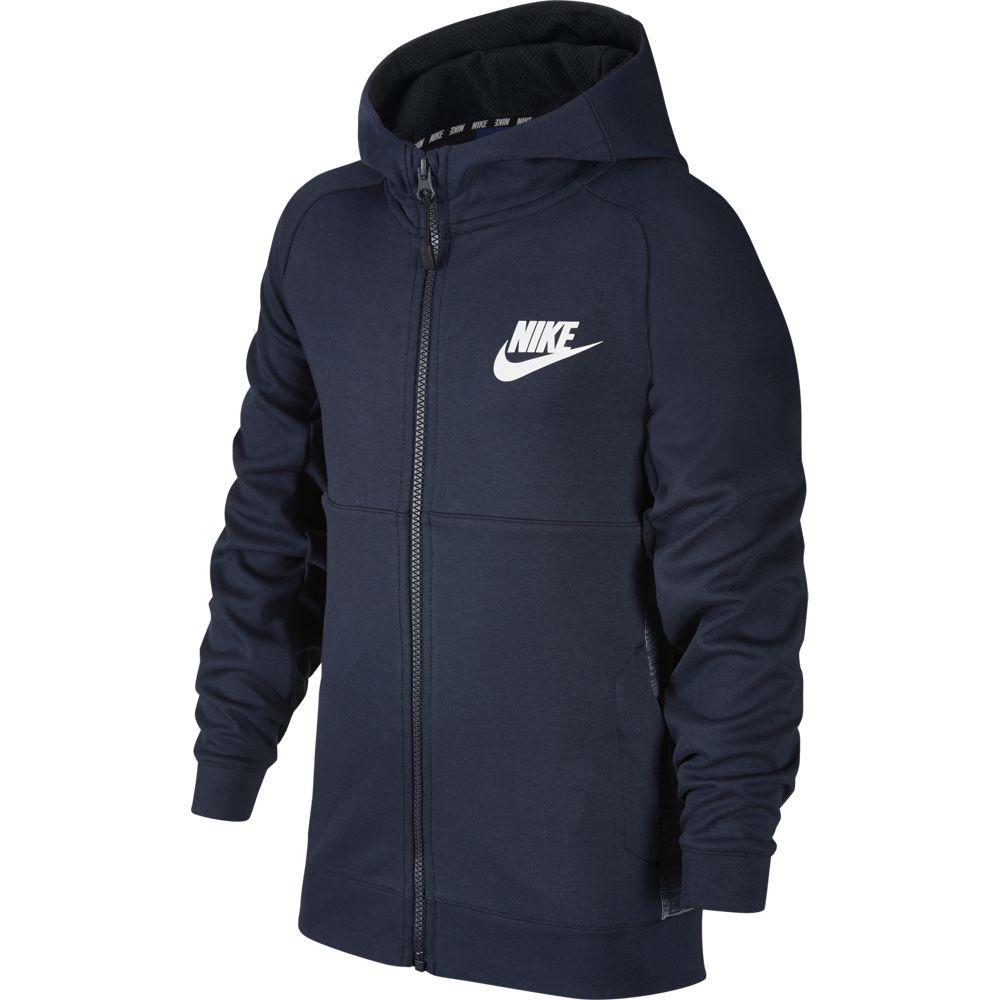Nike B NSW HOODIE FZ AV15, jopa o.fit, modra