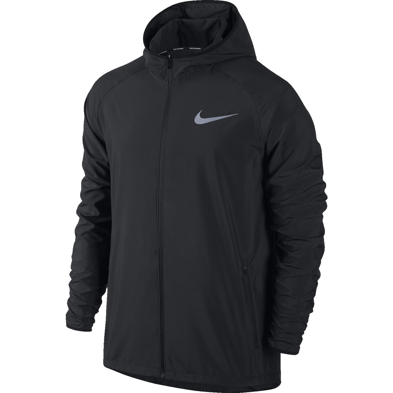 Nike M NK ESSNTL JKT HD, moška jopa, črna