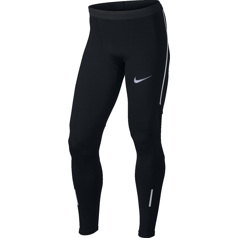 Nike M NK TECH TGHT, moške tekaške pajke, črna