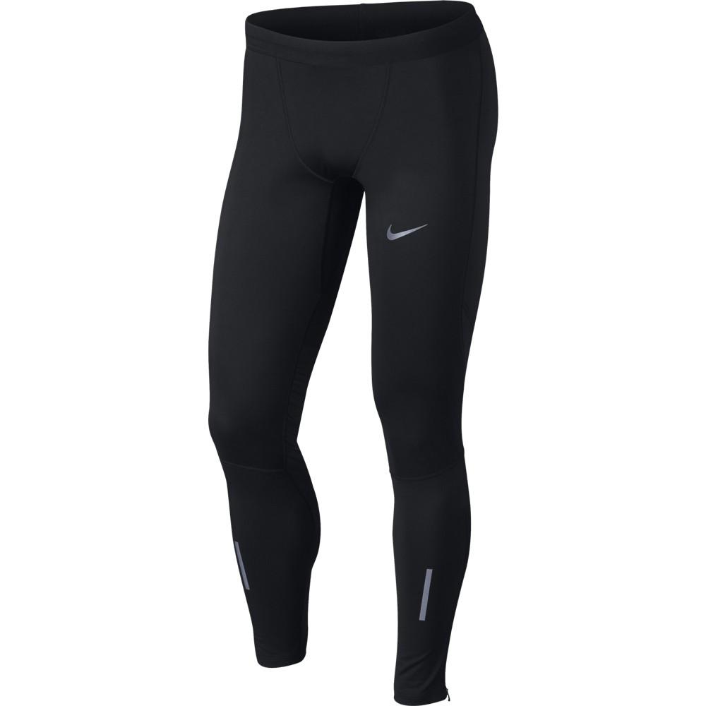 Nike M NK SHLD TECH TGHT, moške tekaške pajke, črna