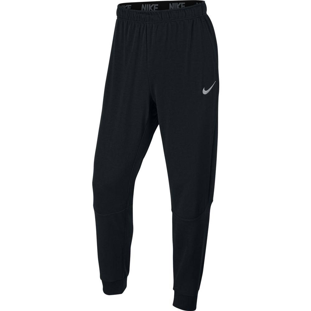 Nike M NK DRY PANT TAPER FLEECE, moške hlače, črna