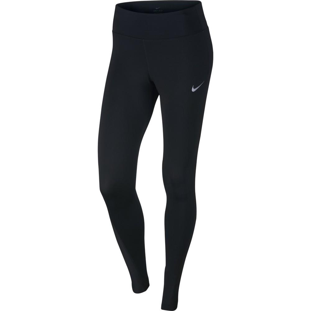 Nike W Nk Pwr Tght Racer, ženske tekaške pajke, črna