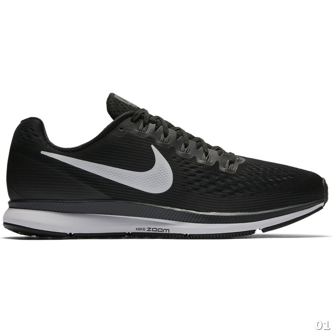 Nike NIKE AIR ZOOM PEGASUS 34, moški tekaški copati, črna