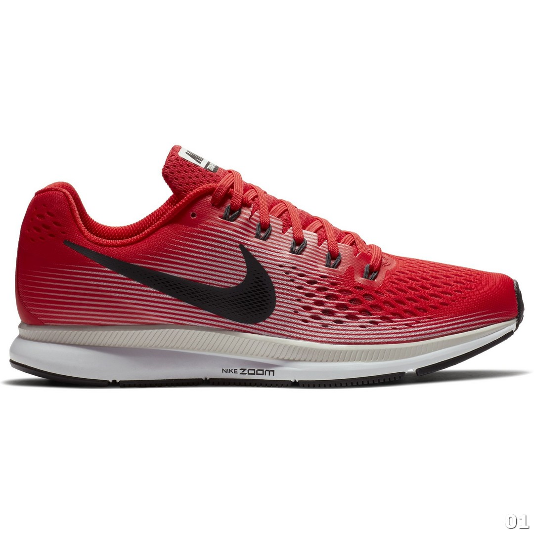 Nike NIKE AIR ZOOM PEGASUS 34, moški tekaški copati, rdeča